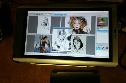 Huion with Images