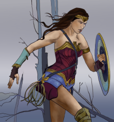 Wonder Woman Gmic Colour